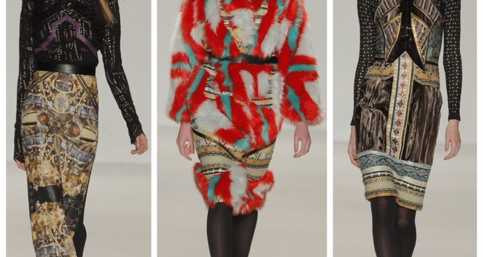 FASHION FYI: FASHION FORWARD | CUSTO BARCELONA FW14 FOR NYFW